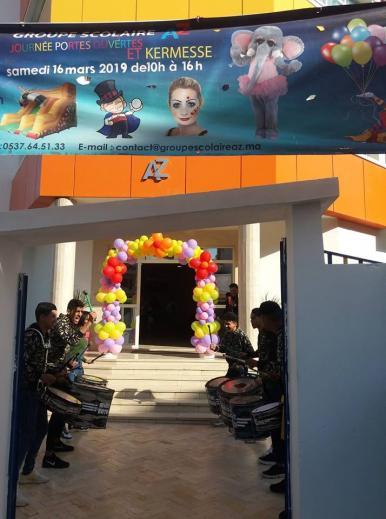 Journée Portes ouvertes et Kermesse au Groupe Scolaire AZ