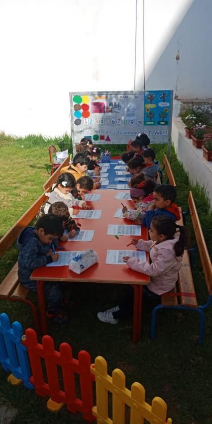 Les petits anges de la maternelle du groupe scolaire Az ont célébré, l